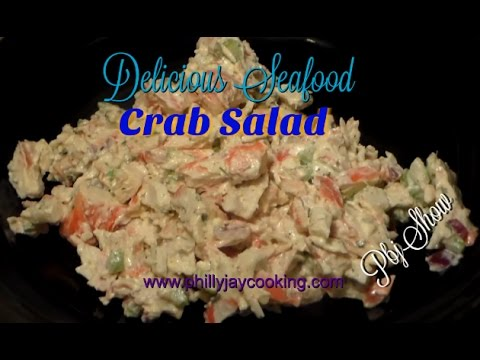 Easy Delicious Crab Seafood Salad Recipe: How To Make Imitation Crab Salad