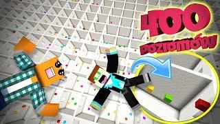 POWRÓT DUETU, BEKA XD! - Minecraft 400 levels! | LJAY i VERTEZ