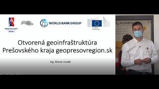 Otvorená geoinfraštruktúra Prešovského kraja geopresovregion.sk