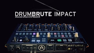 Music creation for teaser Arturia Drumbrute Impact