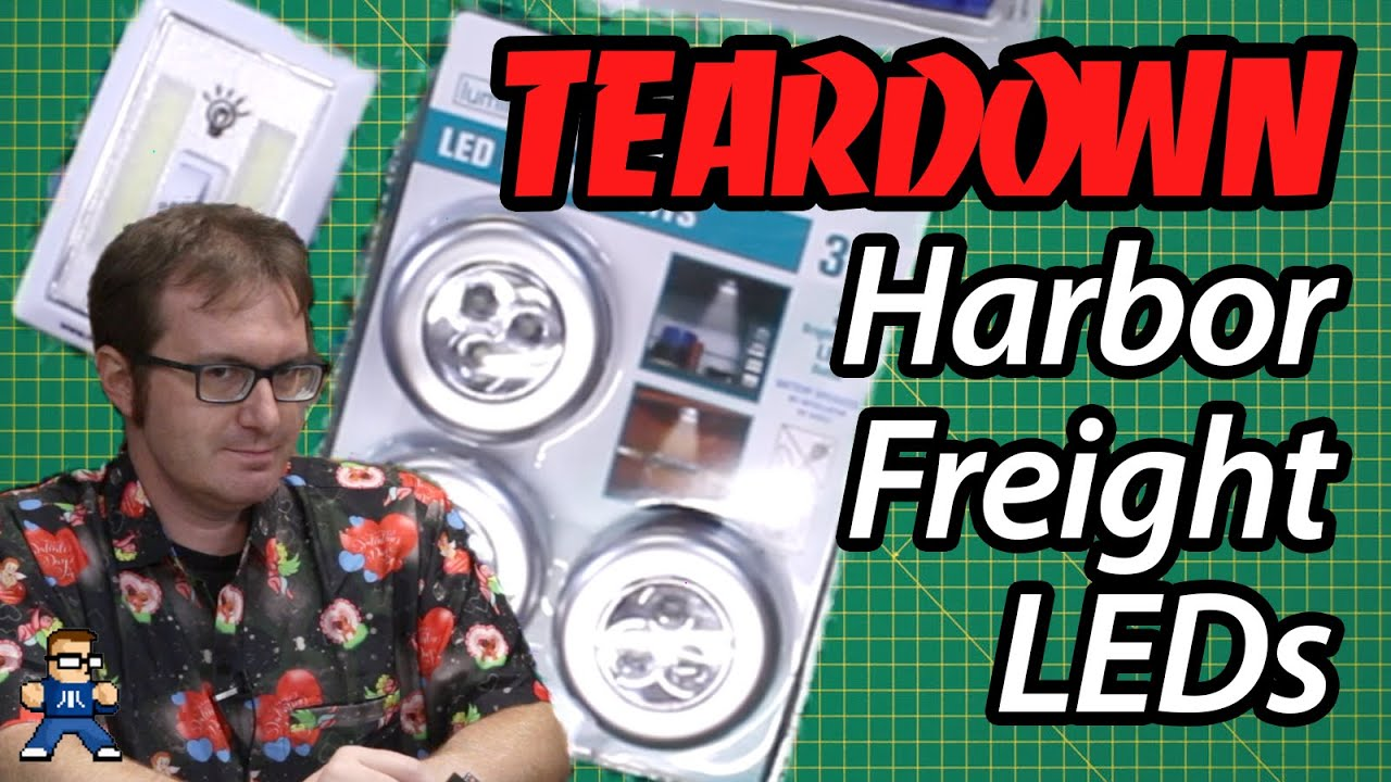 Harbor Freight LED Parts Harvest
