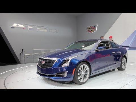 2015 Cadillac ATS Coupe - 2014 Detroit Auto Show