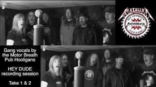 Beatallica - HEY DUDE MBPBH recording session