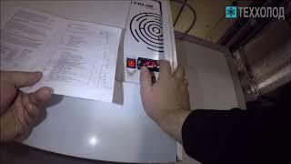 Настройка контроллера Carel в морозильных камерах