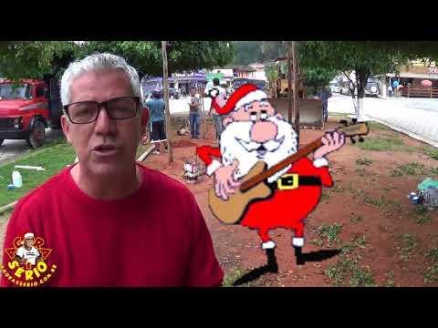 Secretário de Educação Oscar Vitorino fala sobre a iluminação de Natal 2017 de Juquitiba