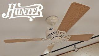 Hunter Bayport Ceiling Fan   1080p HD Remake