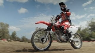 Girls Learn to Ride Dirt Bikes -- RideApart