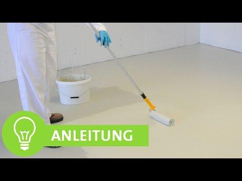 Anleitung: Garagen und Kellerböden beschichten mit Epoxidharz - ADLER