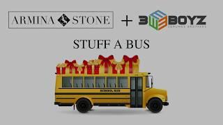 Armina Stone and the Eboyz Foundation Donate to 96.1 KISSFM Stuff-A-Bus Program