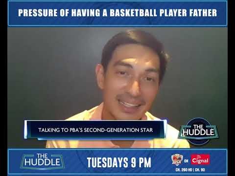 THE HUDDLE | Pressure of having a basketball player father
