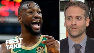 Everyone in Boston is happier with Kemba Walker there – Max Kellerman | First Take