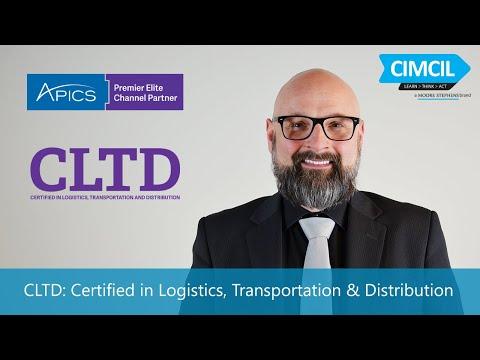 CLTD: Certified in Logistics, Transportation & Distribution - YouTube