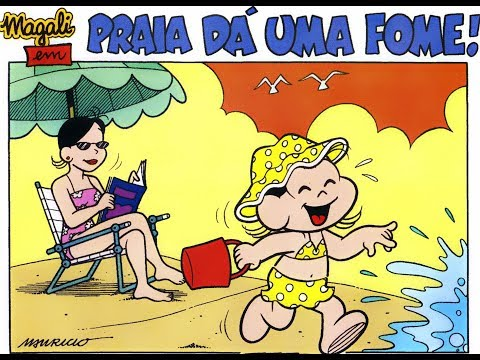 Magali - Praia dá uma fome!, Gibis Turma da Mônica