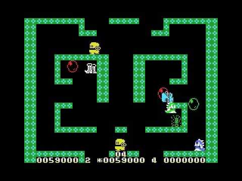 Super Bubble Bobble / New Boggle Boggle 2 (MSX, rom, 1989 MBiTM)