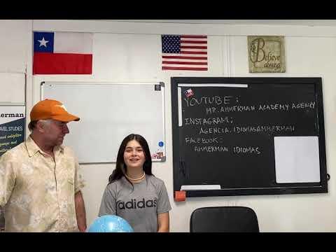 Ensenando mi hija pronunciacion. Teaching my daughter pronunciation.