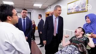 Sağlık Bakanı Demircan acil servisleri denetledi
