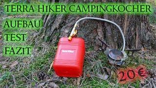 TERRA HIKER CAMPINGKOCHER / Aufbau / Test / Fazit