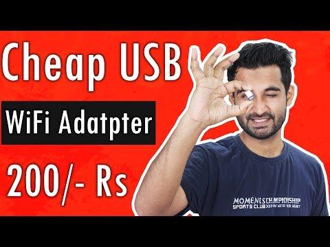 [HINDI]Cheap USB WiFi Adapter : Worth buying?