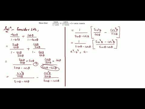 Trigonometry Part 38 Solutions for Class 10 CBSE