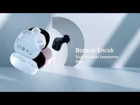 Belaidės ausinės Baseus Encok WM01 Plus kaina ir informacija | Ausinės, mikrofonai | pigu.lt