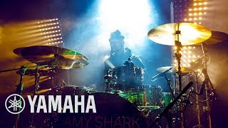 Backstage: Joe Malafu Drumming For Amy Shark