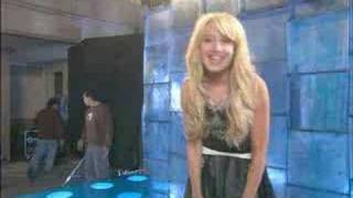 Ashley Tisdale - Kiss The Girl - Behind The Scenes