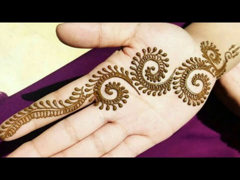Download Simple Mehndi Design For Hands For Beginners Latest Easy