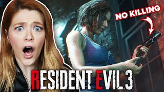 We Play Resident Evil 3 Without Killing Zombies