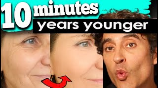 LOOK 10 YEARS YOUNGER 10 MINUTES a DAY ROUTINE- Doctor's Natural Skin Care Routine