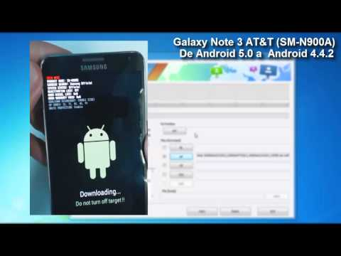 Downgrade Lollipop 5.0 A Kitkat 4.4.2 Del  Galaxy Note 3 (N900A) AT&T Mp3