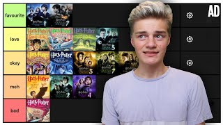 Ranking The Harry Potter Books And Movies! (tier List)