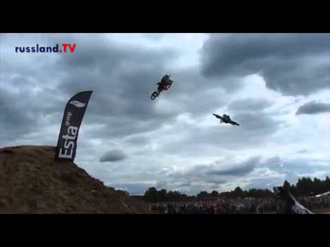 Video: Freestyle-Motocross in Russland