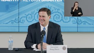 Arizona COVID-19 Briefing with Governor Ducey, Dr. Christ, Maj. Gen. McGuire - May 12, 2020
