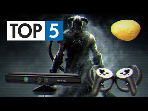 TOP 5 - Podivných způsobů, jak lidé hráli hry