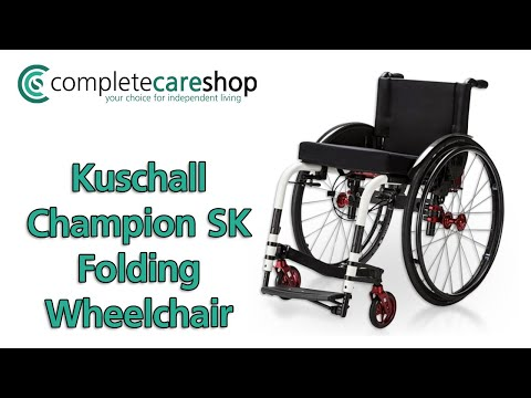 Kuschall Champion SK Folding Wheelchair - Small But Smart