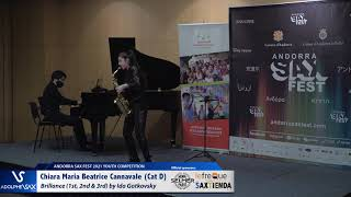 Chiara Maria Beatrice Cannavale plays Brillance 1st, 2nd & 3rd by Ida Gotkovsky