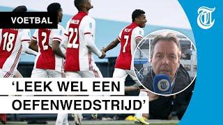 Ajax wint, maar: 'Zo wil je geen bekerfinale spelen'