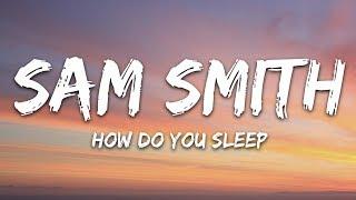 How Do You Sleep Sam Smith