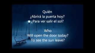 Quien - Pablo Alboran Translated With English Lyrics/Traducido Con Letra En Español