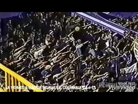 """MILLONARI⚽S FC - SKA SONG FOOTBALL"" Barra: Comandos Azules • Club: Millonarios • País: Colombia"