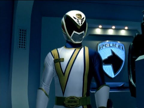 "Power Rangers S.P.D. - Omega Ranger's Identity | Episode 23 ""Messenger Part 2"""