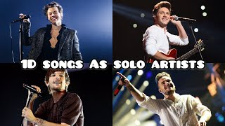 Harry, Niall, Liam And Louis Singing One Direction Songs As Solo Artists