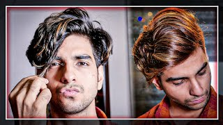 BLACK To CARAMEL BROWN Transformation| Caramel Brown Hair Color For Men| LAKSHAY THAKUR