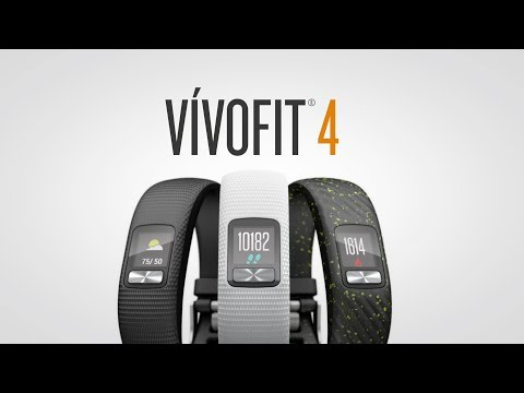 vívofit 4: Activity Tracker with 1+ Year Battery Life