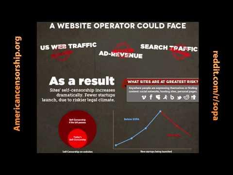 SOPA: Americká vláda se snaží zničit internet