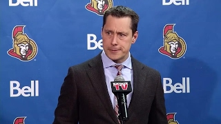 Boucher: Methot's finger is destroyed, shattered