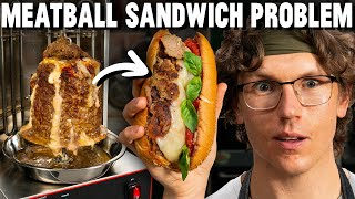 Using a $300 Machine To Make The Perfect Meatball Sandwich
