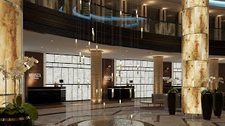 5 Star Hotel & Resort Interior Design Ideas Animation By Spazio Dubai