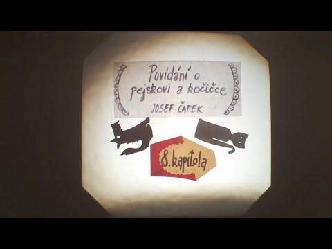 8/9 Povídání o pejskovi a kočičce - O panence, která tence plakala - J. Čapek - Divadlo Toy Machine