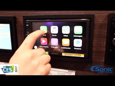 Sony XAV-AX100 Double Din Car Stereo w/ Android Auto & Apple CarPlay | CES 2017